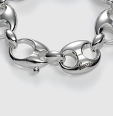 Gucci Bracelet In Sterling Silver With Marina Chain Motif