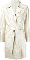 Sylvie Schimmel Depeche Perlato coat - women - Lamb Skin - 38