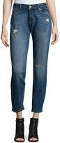 DL1961 Premium Denim Skinny Distressed Denim Jeans, Kahlo Blue