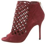 Jimmy Choo Cutout Cage Booties