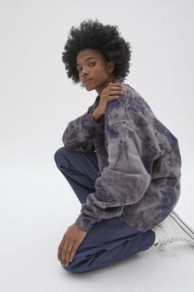 Urban Renewal Vintage Recycled Cloudy Bleach Crew Neck Sweatshirt