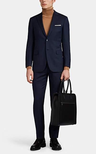 Brioni Men's Brunico Virgin Wool Two-Button Suit - Navy