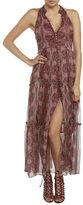 Bardot Halterneck Maxi Dress