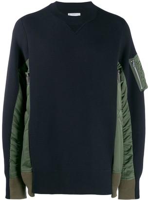 Sacai Pocket Sleeve Sweatshirt