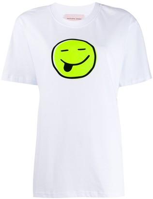 Natasha Zinko smiley print T-shirt