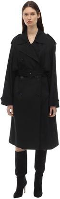Saint Laurent Cotton Canvas Trench Coat