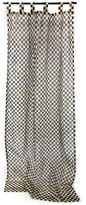 Mackenzie Childs MacKenzie-Childs Courtly Check Tab-Top Curtain