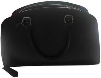 Louis Vuitton Carry it Purple Leather Handbags