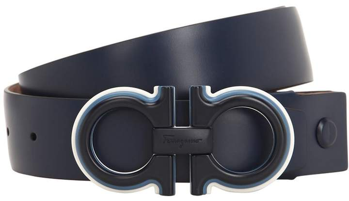 d2fbe59aff81 Salvatore Ferragamo Blue Men's Belts - ShopStyle