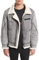 Drifter Men's Denim Bomber Jacket