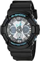 G-Shock Casio Men's GA-201BA-1ACR G Shock Analog-Digital Display Quartz Black Watch