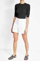 Vince High-Waisted Cotton Shorts