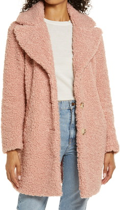 Rachel Parcell Teddy Faux Shearling Coat