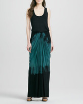 Young Fabulous & Broke Young Fabulous and Broke Amalia Fitted Tie-Dye Maxi Dress