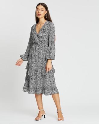 Atmos & Here Aria Ruffle Dress