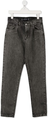John Richmond Junior Rich rear patch jeans