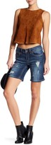 Seven7 Distressed Bermuda Short