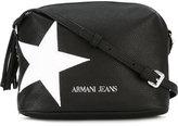 Armani Jeans star print crossbody bag - women - Polyurethane - One Size