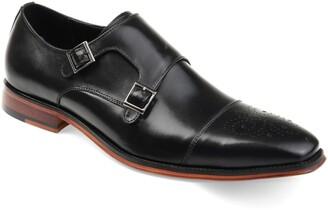 Rockwell Thomas & Vine Double Strap Cap Toe Monk Shoe