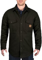 Dickies Men's Walls Weldon Vintage Plaid Bonded Jacket Shirt