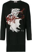 Yohji Yamamoto printed top