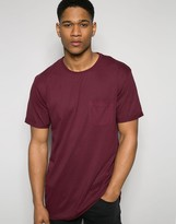 !solid T-shirt With Front Pocket