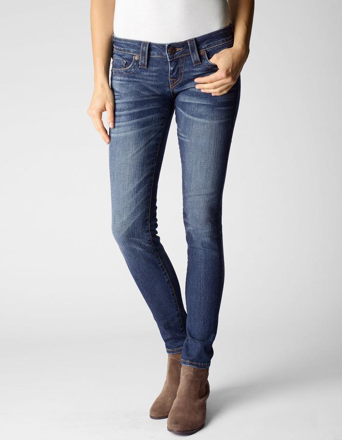 "True Religion Womens Stella 32"" Mid-Rise Jeans"