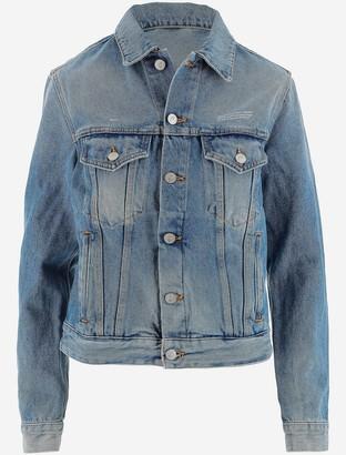 Off-White Cotton Denim Women's Jacket