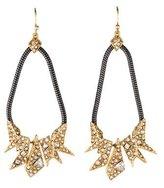 Alexis Bittar Two-Tone Crystal Drop Earrings