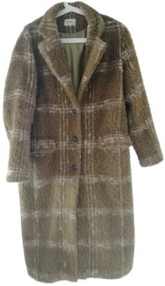 Polder Green Wool Coats
