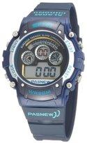 Fashion Digital Waterproof Sport Wrist Watches for Boys Girls (Blue)