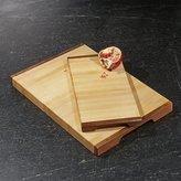 Crate & Barrel J.K. Adams Equinox Wood Cutting Boards