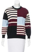 J Brand Oversize Colorblock Sweater