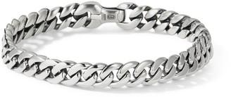 David Yurman Chain Sterling Silver Curb Link Bracelet