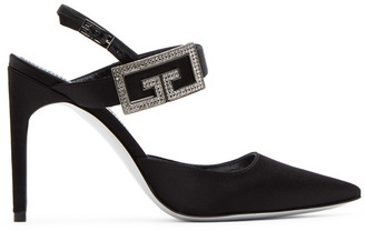 Givenchy Black Double G Pumps