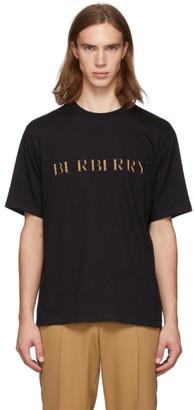 Burberry Black Logo Sabeto T-Shirt