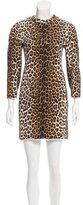 3.1 Phillip Lim Leopard Print Mini Dress
