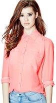 GUESS Charlotte Long-Sleeve Shirt