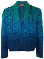 Missoni chunky knit zip cardigan