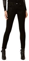 Karen Millen Shimmer Jeans, Black