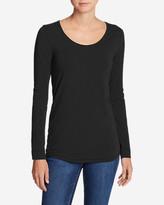 Eddie Bauer Women's Pima Scoop-Neck T-Shirt - Solid