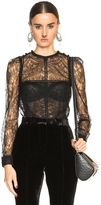 Givenchy Lace Patchwork Blouse