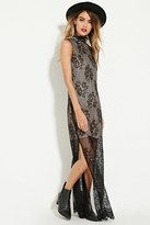 Forever 21 FOREVER 21+ The Allflower Floral Lace Maxi Dress