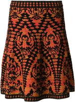 M Missoni woven A-line skirt