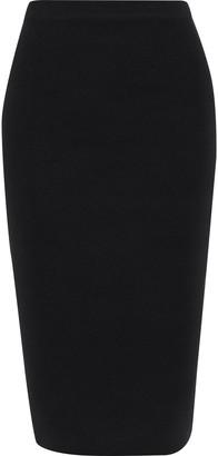 Joseph Silk-blend Ponte Pencil Skirt