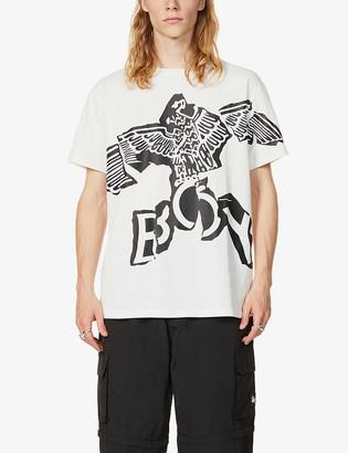Boy London Eagle logo cotton-jersey T-shirt