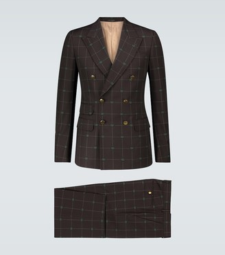 Gucci Exclusive to Mytheresa - GG windowpane suit