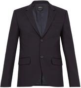 A.P.C. Serge stretch-cotton blazer