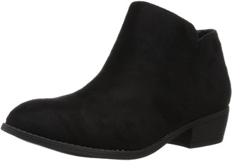 Brinley Co. Women's Flare Ankle Boot