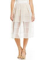 Gianni Bini Bianca Organza Overlay Skirt